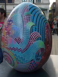 Easter Egg on the street