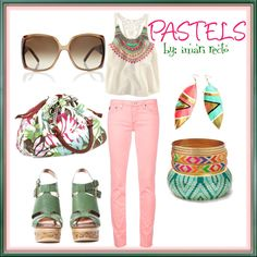 Pastels, created by imari-cimafranca on Polyvore
