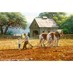 Here Daddy by Mark Keathley is a signed numbered limited edition print from a Mark Keathley original painting