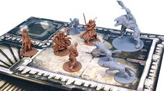 Zombicide: Black Plague - Wulfsburg - example on board