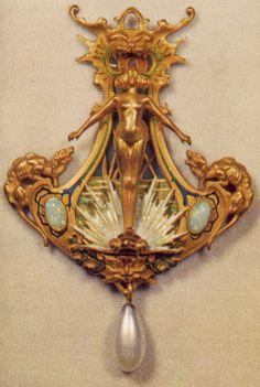 Art Nouveau jewellery. Rene Lalique & Co. - IX