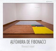 Fotomat Alfombra de Fibonacci de @notemates