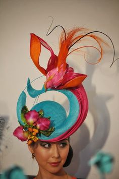 Racing Fashion: Oaks Day Fashions on the Field Millinery Award 2013 Part 2 - Louise McDonald
