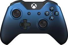 Microsoft - Xbox One Special Edition Dusk Shadow Wireless Controller - Faded blue metallic, GK4-00028