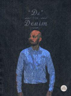 D for denim