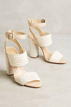 Schutz Glendy Heeled Sandals #weddingshoes