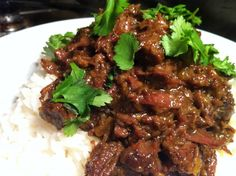 Slow Cooker Ox Cheek Rendang