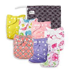 Baby Cloth Pocket Diapers 7 Pack, 7 Bamboo Inserts, 1 Wet... https://www.amazon.com/dp/B017WYJEAS/ref=cm_sw_r_pi_dp_x_4a4Myb2W53TNS