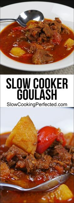 Hearty Slow Cooker Goulash