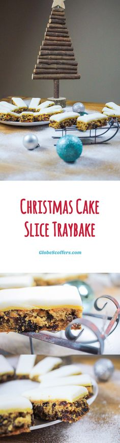 Save time this Christmas with our simple and delicious festive traybake! It has all the flavours of a Christmas cake but without the months of prep.