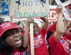 Why Aren't More Union Bosses Black Women?