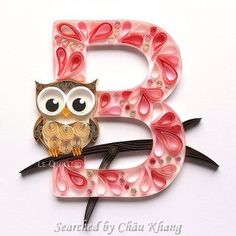 © Le quillery- Quilled ABCs 1 (Searched by Châu Khang)
