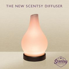The Scentsy Diffuser is now available! Get ready to experience fragrance in a completely new way.  Available at jenniferlynnmcmahan.scentsy.us