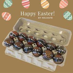 DIY Easter Eggs Dinosaur