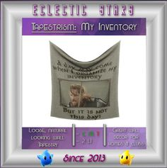 Eclectic Stars Tapestrism: My Inventory ~ Quest Gift