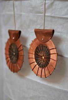FRANCISCA LOBO ORFEBRERIA Cobre y Crin  Encuentra más diseños en www.franciscalobo.blogspot.com