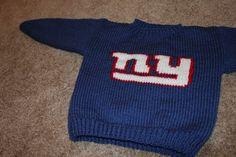 New York Giants toddler Sweater