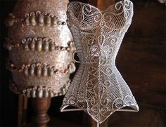 Wire Corset Mannequin Stand