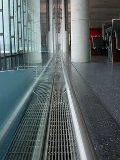 Grelhas de Protecção Aquecimento Euroslot - Aeroport Zurich