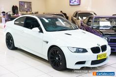 2011 BMW M3 E92 MY10 White Automatic 7sp A Coupe #bmw #m3 #forsale #australia