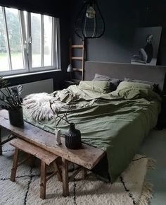 Masculine Men Bedroom Design Ideas is part of Men's bedroom design - Gentlemen, when you decide to decorate your bedroom surely you want to have a stylish and functional design that also […] Warm Bedroom, Home Decor Bedroom, Bedroom Furniture, Master Bedroom, Master Suite, Bedroom Brown, Bedroom Apartment, Mens Room Decor, Bedroom Bed