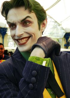 Joker's Cufflinks #cosplay by Anthony Misiano #SDCC 2012