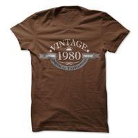 Wear this Premium Shirt  http://www.sunfrogshirts.com/Vintage-1980-g9g5.html?13746