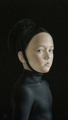 Salustiano Garcia Cruz - Contemporary Artist - Spain - Black Collection