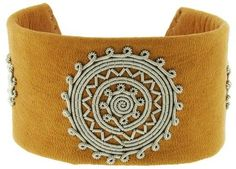 Handmade single wrap Bracelet created in brown leather with woven Pewter and horn clasp by Maria Rudman. Diy Bracelets How To Make, Make Your Own Bracelet, Homemade Bracelets, Bracelet Making, Embroidery Floss Bracelets, Embroidery Shop, Floral Embroidery, Hand Embroidery, How To Make Leather