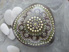 Beach Stone Art/Painted Rocks/Painted Stones/Beach Stones/Beach Rocks/Dot Painted/Beach Decor/Inspriational