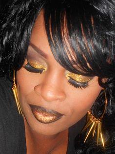Golden Gothic Princess     http://www.makeupbee.com/look.php?look_id=70669