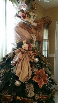 Victorian Dress Form Christmas Tree 2015