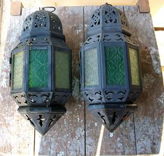 Vintage outdoor lanterns