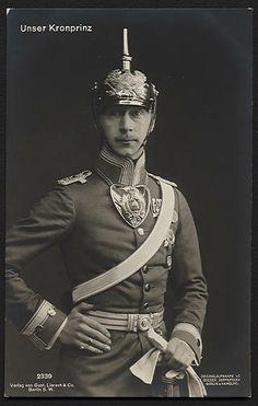 The German Crown Prince Wilhelm