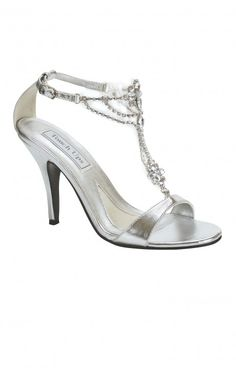 Shop for designer dress shoes at Simply Dresses. Sexy high heels for prom, formal designer dress shoes, bridal shoes and high heels for bridesmaids. Silver Evening Shoes, Silver Wedding Shoes, Pageant Shoes, Homecoming Shoes, Silver Metallic Shoes, Silver Heels, Silver Sandals, Strappy Sandals, Silver Color