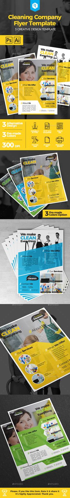 The 18 best flyer images on pinterest posters print templates and cleaning company flyer template corporate flyers cheaphphosting Images
