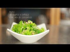 Programa Receitas Organomix - Episódio 11 - Molho de Iogurte com Linhaça e Mix de Castanhas - YouTube