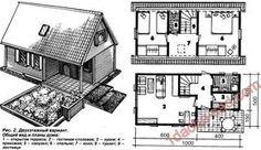 Проект каркасного дома в 2 вариантах: одноэтажный и с мансардой — поэтапное руководство строительства с чертежами