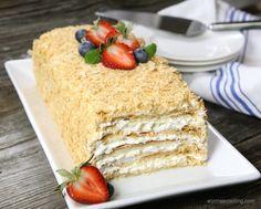 Easy Napoleon Cake More