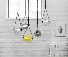 The Capsula Model Is A Brilliant Pendant Light Design Composed Of Two  Convex Capsules, One Photo Gallery