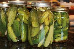 A spicy, sweeter departure from the standard dill pickle, these also have garlic and pickling spice which make them a full-flavored pickle…I seldom make regular dills now, everyone always asks for these! Cucumber Recipes, Spicy Recipes, Great Recipes, Favorite Recipes, Pepper Seeds, Stuffed Banana Peppers, Canning Recipes, Sweet And Spicy, Chutney