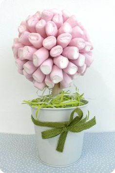 ramo chuches 05 Decoration, Wedding Planner, Planter Pots, Ibiza, Baby Shower, Ideas Fáciles, Ideas Para, Party, Kids