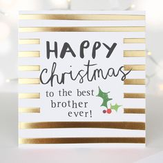 Shop Christmas cards, wrapping paper, advent calendars and great gifts for her in our Gift Guide. Diy Christmas Gifts For Dad, Christmas Love, Christmas Shopping, Gifts For Her, Great Gifts, Sibling, Gold Foil, Gift Guide, Festive