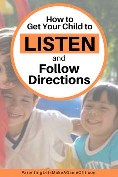Want to get your child to listen and follow directions without any power struggles? Imagine it. No more morning madness trying to get out of the house. Goodbye to nighttime standoffs going to bed later and later. I know, it sounds too good, but there's a trick. Learn this simple 3-step process to make parenting easier, more rewarding, and fun. #parentingtips #parentingadvice #parenting #kidsandparenting #postiveparenting #momlife Positive Parenting Solutions, Parenting Advice, Kids And Parenting, Strong Willed Child, Make A Game, Following Directions, Marriage Tips, Mom Advice, More Fun