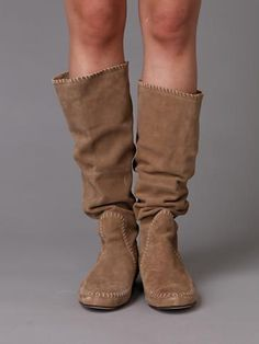slouchy free people boots