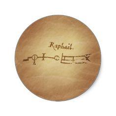 Magic Seal Angel Raphael Protection