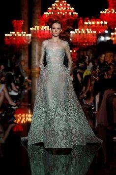 Elie Saab Paris Fashion Week Bridal Inspiration