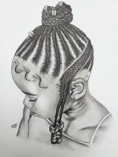Drawing Hairstyle Beautiful artwork and hairstyle Lil Girl Hairstyles, Cute Hairstyles For Kids, Kids Braided Hairstyles, My Hairstyle, Short Hairstyles, Teenage Hairstyles, Straight Hairstyles, Debs Hairstyles, Drawing Hairstyles
