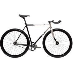 State Bicycle Co. Contender II | Silver Chromoly Fixed Gear Track Bike