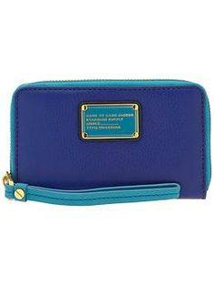 Marc by Marc Jacobs Classic Q Colorblocked Wingman Wallet | Piperlime